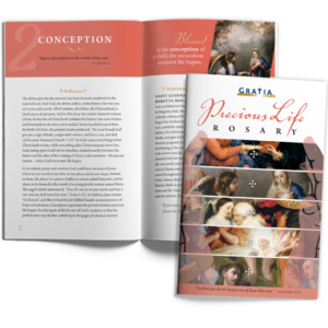 Precious Life Rosary booklet